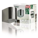 Ranex LED Wandlamp voor Buiten 3 W 190 lm Geborsteld Aluminium