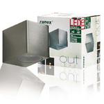Ranex LED Wandlamp voor Buiten 3 W 230 lm Geborsteld Aluminium