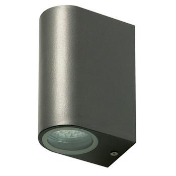 LED Wandlamp voor Buiten 6 W 230 lm Donkergrijs