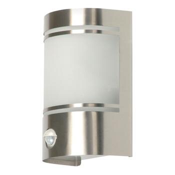 Monteer de wandlamp van 60 watt in een tuin of op een balkon om 's avonds van het verlichtingseffect te genieten. Door de lamp aan een gevel te hangen, komt u nooit meer in het donker thuis.<br /> <br /> Deze wandlamp is gemaakt van geborsteld roestvrij staal en word