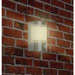Ranex Wandlamp Buiten 60 W Incl. Bewegingssensor Geborsteld Staal