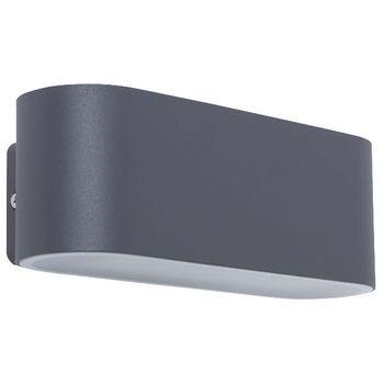 Smartwares GWI-002-HS Ivan wandlamp – Geïntegreerde LED – Aluminium <br /> De Smartwares GWI-002-HS Ivan wandlamp schijnt zowel naar onder als naar boven. Het weersbestendige moderne design zorgt ervoor dat de lamp zowel binnen als buiten gebruikt kan worden.