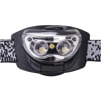 Hoofdlamp 3 LED Zwart