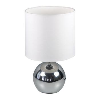 Tafellamp Touch-Functie 40 W Chroom / Wit