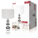 Ranex Tafellamp Touch-Functie 40 W Chroom / Wit