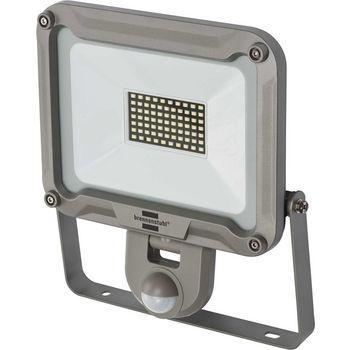 Geschikt voor installatie binnen- en buitenshuis, IP 44. Krachtige 50 WLED-lamp met chip voor wandmontage, met extra brede lichtspreiding voor de verlichting van een groot oppervlak. Ideaal voor hobbyisten, werkplaatsen en bouwterreinen. Automatische verl
