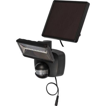 LED Floodlight met Sensor 400 lm Zwart