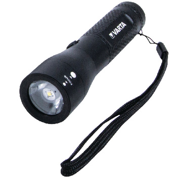 • Highly sophisticated premium flashlight with 3 Watt high<br /> performance LED<br /> • Slidable head with precision focus system (spot-to-flood)<br /> • MCU-controlled on/off button with infinitely variable<br /> dimming function<br /> • Specially hardened aircraft-standard aluminiu