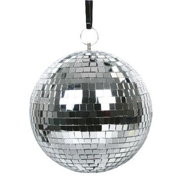 Bevestig deze spiegelbal aan het plafond en begin uw eigen discofeest gewoon thuis. De bal bevat kleine spiegels van glas om de ultieme disco-ervaring te creëren. <br /> Combineer de spiegelbal met de Valueline VLMOTOR01 en VLPinspot01 en zorg voor de ultieme d