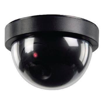 De dummy-camera dome voor binnen helpt om indringers af te schrikken. <br /> Het heeft een professioneel ontwerp met een ingebouwde knipperende LED, en is eenvoudig te monteren met de meegeleverde beugel.