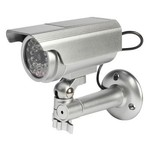 König Bullet Dummy Camera IP44 Zilver