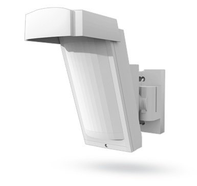 The Jablotron JA-185P Wireless outdoor PIR detector offers stable and accurate detection in outdoor conditions.