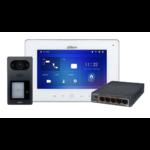 Dahua IP-Video-Intercom-Kit auf PoE-Basis mit 2-Tasten-Außenposten