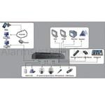 Hikvision Gravador de Vídeo em Rede DS-9632NI-I8 (32 câmeras) 8x SATA, 2x LAN