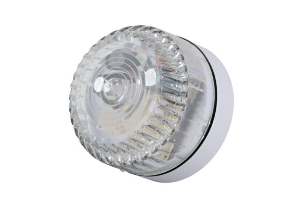 Flash profesional, modelo bajo. Luz de flash blanca. Adecuado para uso en interiores y exteriores, flash robusto, fuente de alimentación de 9-60 Vcc. 75 destellos por minuto