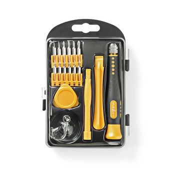 Toolkit | 17-in-1 | voor reparatie van pc, smartphone en tablet