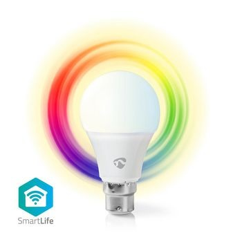 Wi-Fi smart LED-lamp | Full-Colour en Warm-Wit | B22