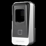 Hikvision DS-K1201MF, leitor de cartão de impressão digital MiFare