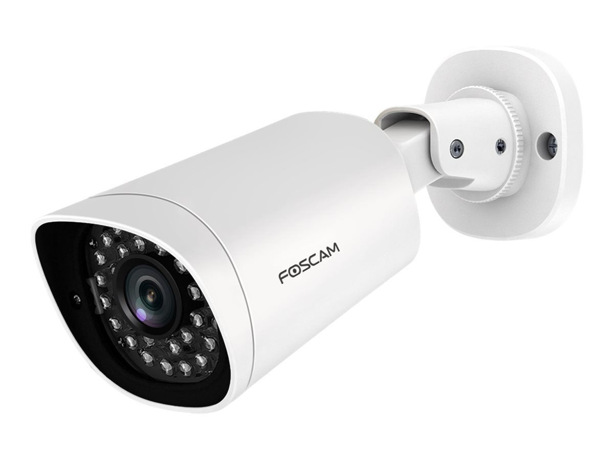 The FOSCAM FI9912EP IP Camera for outside with SD card slot and PoE takes sharp videos and photos that are vividly presented. The larger viewing angle covers more places, making the security zone much larger.