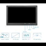 "TFT de 10 ""Full HD monitor de incl. El soporte de montaje en pared"