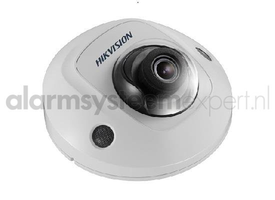 The DS-2CD2545FWD-I mini dome camera is based on the technology from the rich Hikvision line and in this Gold Label version equipped with DarkFighter technology for great night vision. Also now equipped with the latest WDR technology with 120dB true WDR.