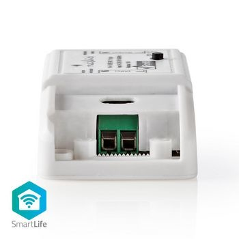 Plaats deze slimme switch in de stroomverbinding van een willekeurig apparaat en schakel het van op afstand aan en uit of plan dit automatisch. <br /> Bedien het aangesloten apparaat met je stem als je deze inline switch gebruikt met Amazon Alexa of Google Home