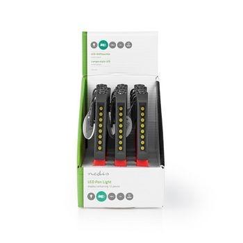 Klein van formaat en toch extreem krachtig: dit König penvormige LED-licht is handig gereedschap om bij de hand te hebben bij stroomuitval. Bevestig het LED-licht aan de magnetische clip en u heeft beide handen vrij om bijvoorbeeld reparaties uit te voere