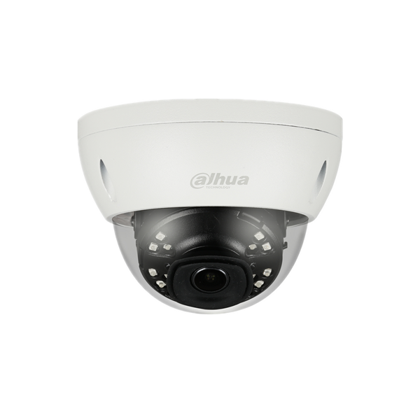 IPC-HDBW4431E-ASE, 4 megapixel dome camera 120dB WDR, micro SD card slot, IR leds