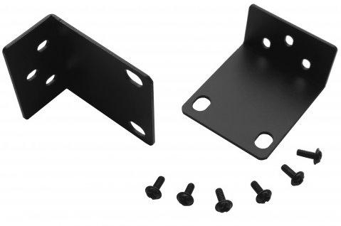 """Kit rack 19 """"per modelli Hikvision 1HE NVR / DVR 19"""". Rack-mount-Hik-1HE, adatto per NVR da 380mm e 385mm di larghezza"""