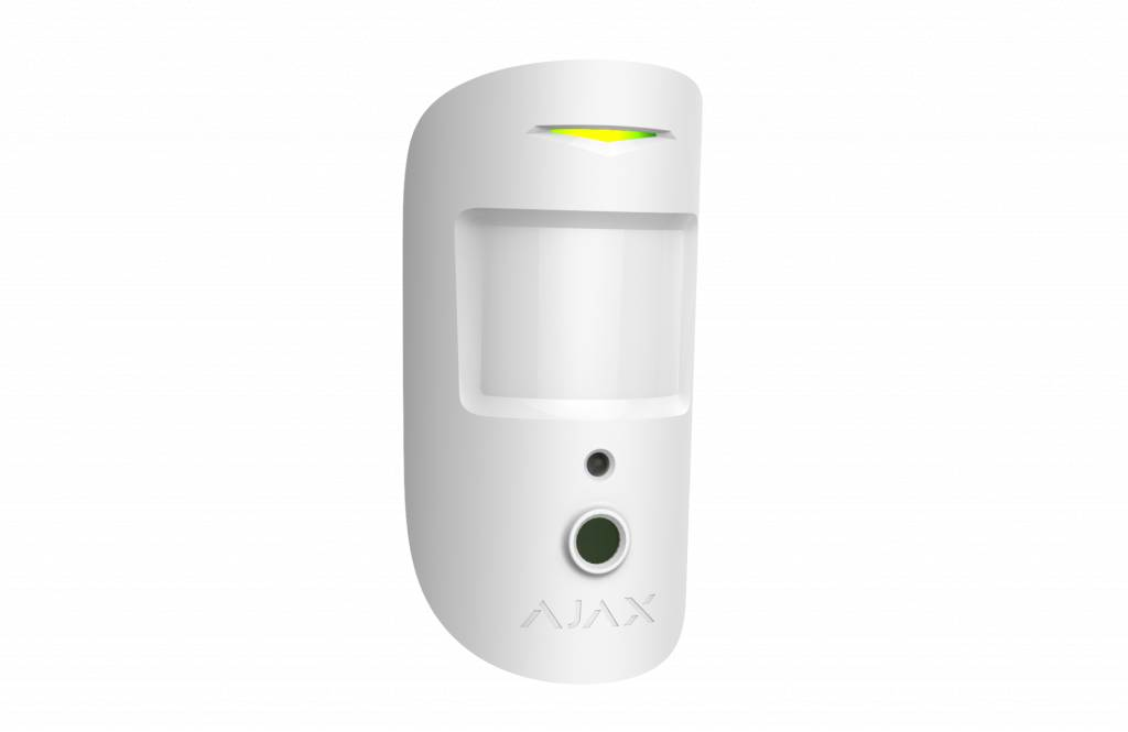 MotionCam Motion Detector con telecamera wireless (bianco)