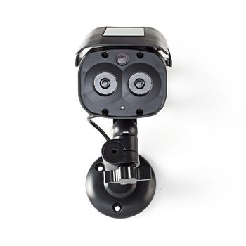 Diese Outdoor-Dummy-Kamera bietet Einbruchschutz zu einem Bruchteil der Kosten einer echten Kamera. Das professionelle Design verfügt über eine eingebaute, blinkende LED. Dies macht es fast unmöglich, die Dummy-Kamera von der realen zu unterscheiden. Die