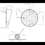 Hikvision DS-1281ZJ-DM27 struttura inclinata