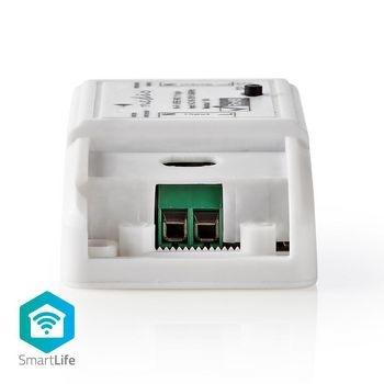 Posiziona questo interruttore intelligente nella connessione di alimentazione di qualsiasi dispositivo e accendilo e spegnilo da remoto o pianificalo automaticamente. Controlla il dispositivo connesso con la tua voce se usi questo interruttore in linea co