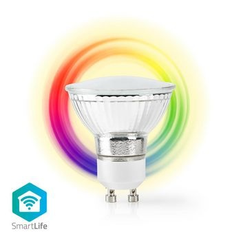 Wi-Fi Smart LED-Lamp | Full-Colour en Warm Wit | GU10