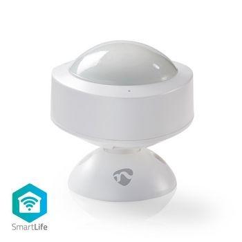 Esse sensor de movimento Wi-Fi inteligente (com um alcance de 10 m em uma área de detecção de 120o) pode ser usado como parte de um sistema de segurança sem fio ou simplesmente para ligar dispositivos quando você entra na sala. Fácil de instalar A instala
