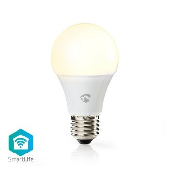 Wi-Fi Smart LED Lampe | Warmweiß | E27