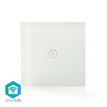 Los interruptores de luz tradicionales se han vuelto mucho más inteligentes. Con este interruptor de luz de pared inteligente puede controlar su iluminación de forma remota y automática. Fácil de instalar El interruptor se puede usar para operar su luz si