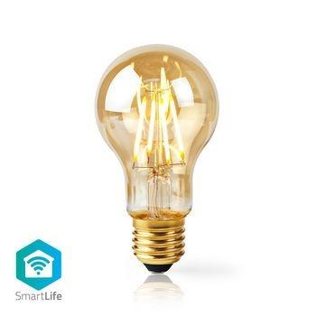 Combine la tecnología moderna con un aspecto clásico con esta lámpara de filamento inteligente que se puede conectar directamente a su enrutador inalámbrico / Wi-Fi para el control remoto como parte de su sistema de automatización del hogar. Fácil de inst