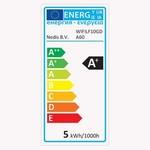 Nedis Lampe à filament intelligente LED Wi-Fi | E27 | A60 | 5 W | 500 lm