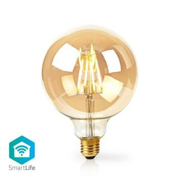 Combine modern technology with a classic look with this smart filament lamp that can be connected directly to your wireless / Wi-Fi router for remote control as part of your home automation system. Easy to install You do not have to have a technical talen