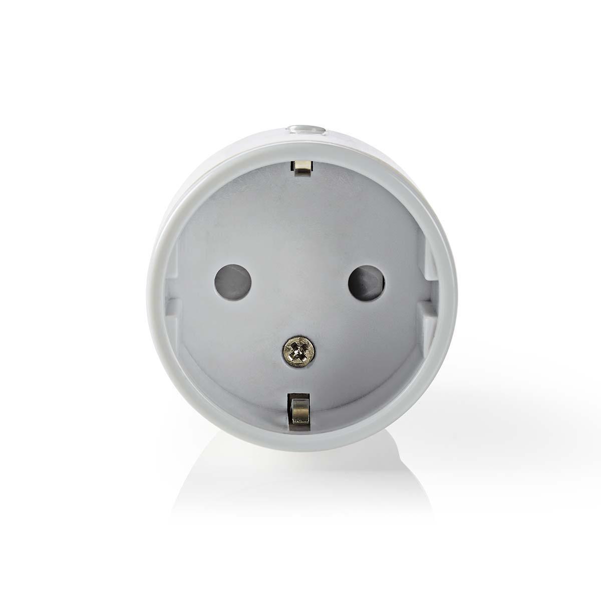 Controle todo tipo de dispositivos eléctricos de forma remota simplemente conectándolos a este enchufe inteligente inalámbrico y conectándolos a su teléfono inteligente o tableta a través de un enrutador Wi-Fi. Con el práctico medidor de flujo, puede ver