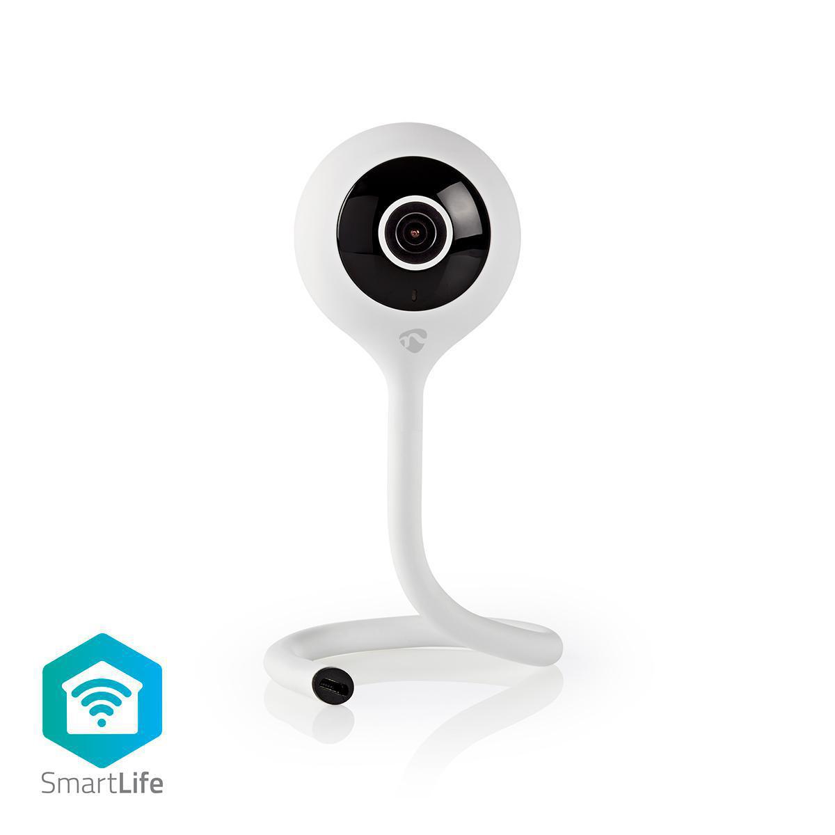 Questa telecamera IP Smart Home è un'aggiunta importante a qualsiasi sistema di casa intelligente, è collegata direttamente alla rete Wi-Fi domestica - non è necessario alcun hub aggiuntivo - ed è attivata da ogni movimento e suono nella stanza. Il sensor