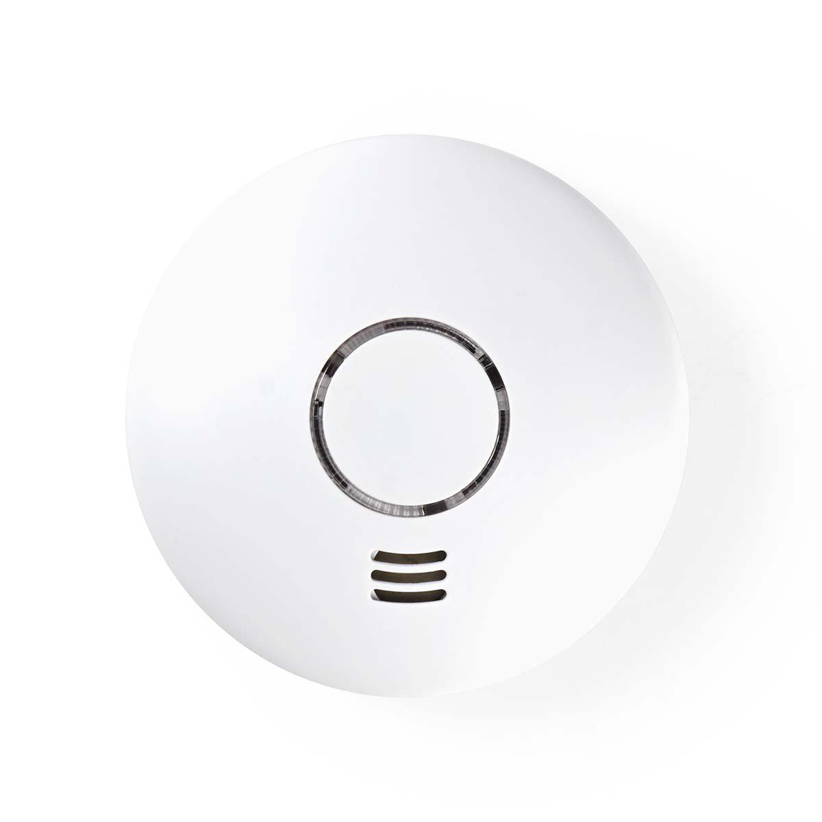 This Wi-Fi smoke detector alerts you to both smoke and an extreme rise in temperature - a loud alarm sounds for everyone who is close by and you also receive a notification on your phone wherever you are at that moment.