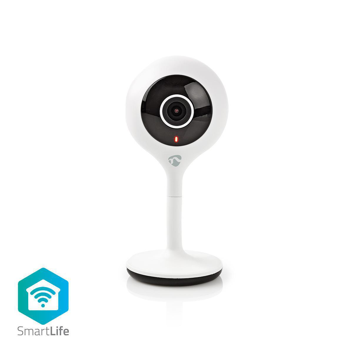 Deze SmartHome IP-camera is een essentiële aanvulling op elk smarthomesysteem, verbindt u rechtstreeks met uw Wi-Fi-netwerk – geen extra hub vereist - en wordt geactiveerd door elke beweging en elk geluid in de ruimte.