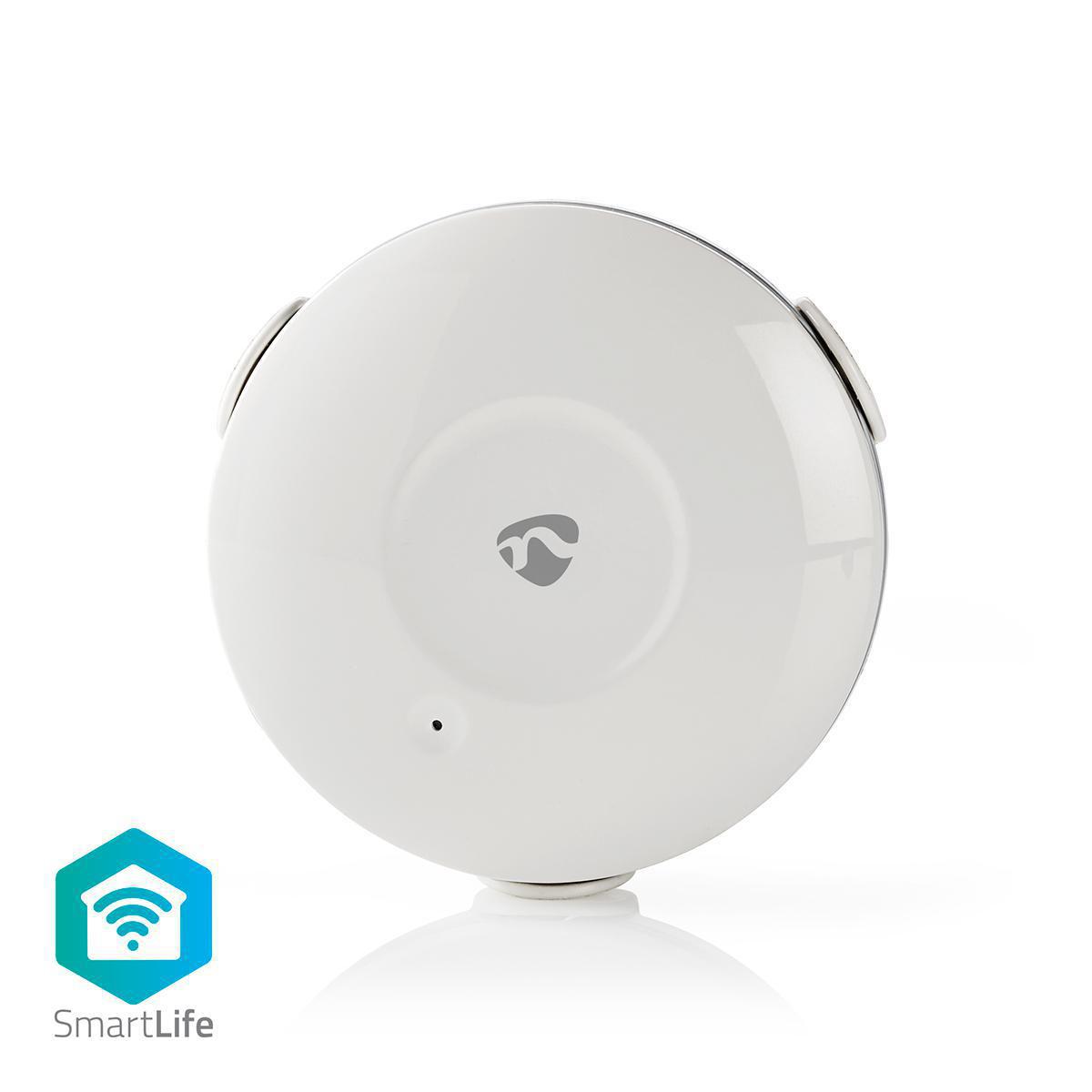 Questo rilevatore di perdite d'acqua wireless intelligente con allarme è estremamente facile da usare. È collegato direttamente al tuo Wi-Fi: non è richiesto alcun hub separato. Semplifica il monitoraggio delle perdite d'acqua in luoghi difficili da raggi