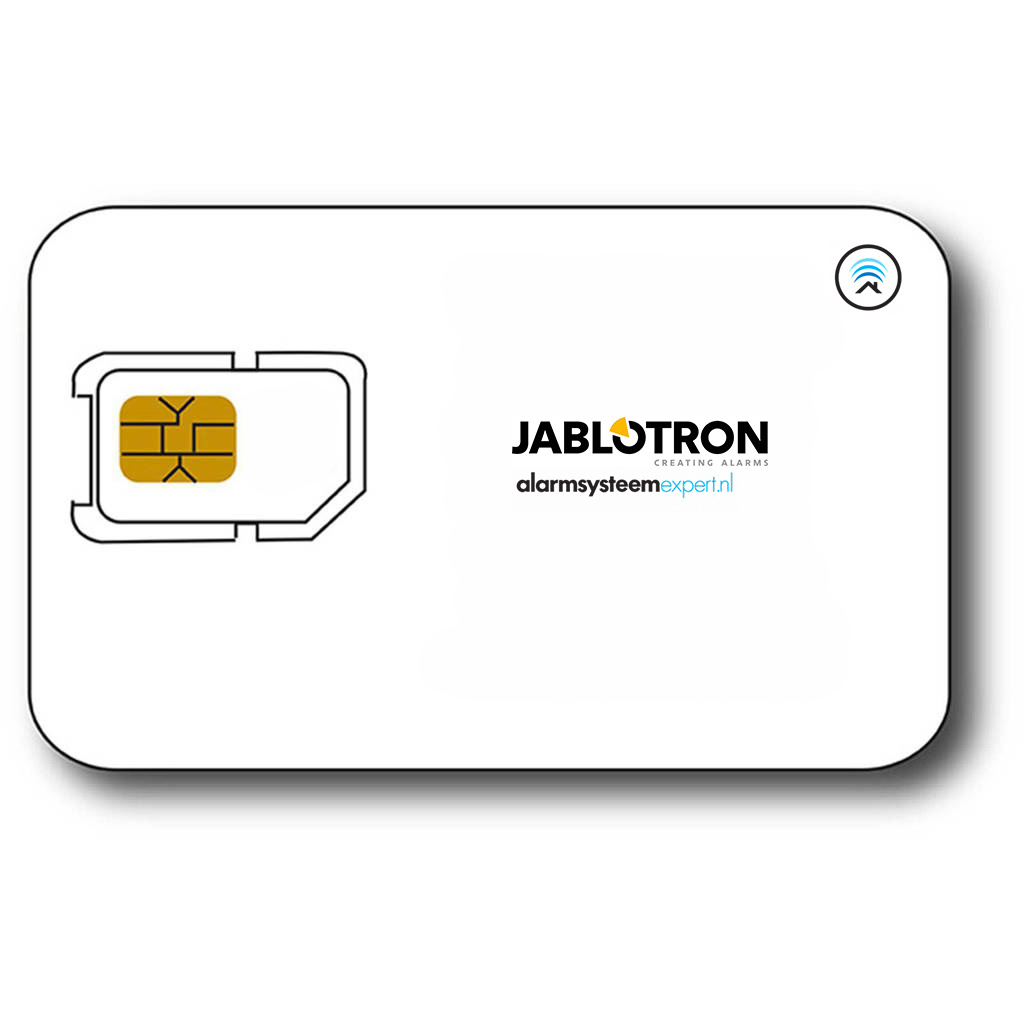 M2M SIM card for Jablotron alarm system per year