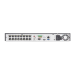 Hikvision DS-7616NXI-I2 / 16P / 4S, AcuSense, Network video recorder, 16x IP channels, 16x PoE, 4K