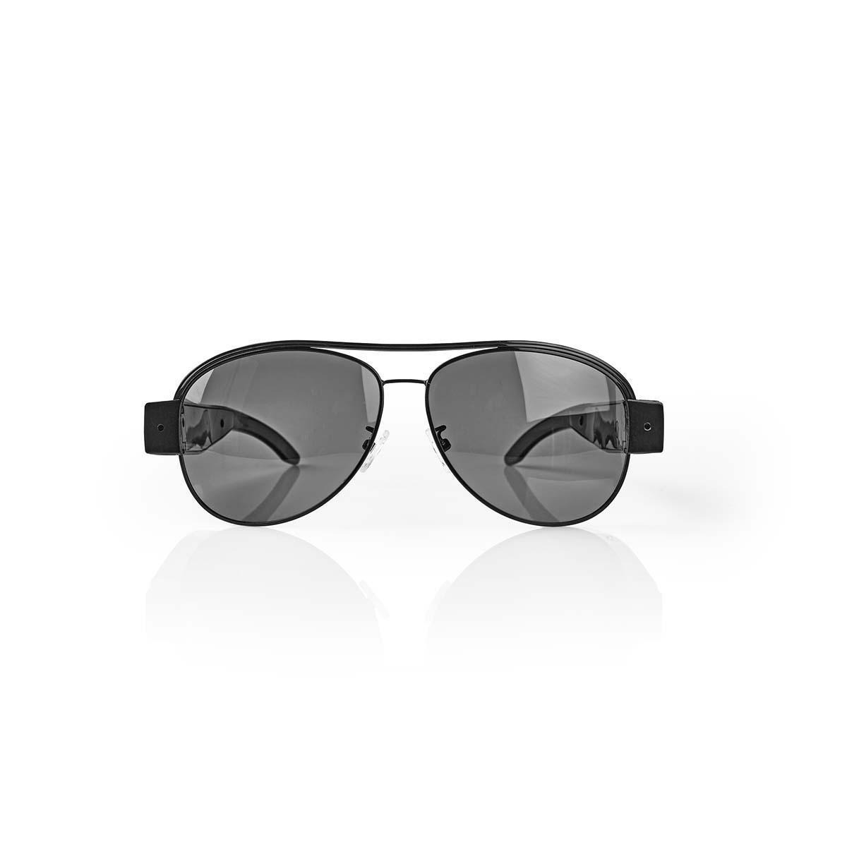 Sonnenbrille mit integrierter Kamera | Video 1920 x 1080 | 4032x3024 Foto | Wiederaufladbar Setzen Sie diese Sonnenbrille mit einer versteckten Kamera auf und machen Sie unauffällige Aufnahmen. Die Sonnenbrille eignet sich nicht nur ideal als Spycam, sond