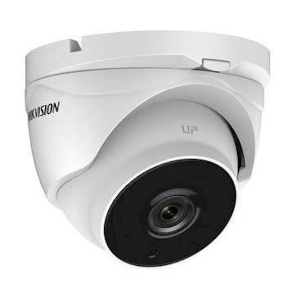 Cette caméra HD-TVI varifocale Eyeball est équipée d'un zoom moteur et d'une lumière très faible! Elle permet d'obtenir une image couleur avec une faible lumière ambiante.