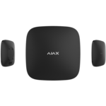 Ajax Systems Smart Hub PLUS, Zwart, Met GSM, LAN en WiFi Communicatie